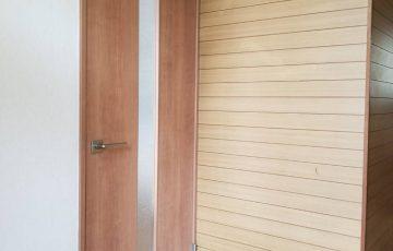 大きいドアに交換