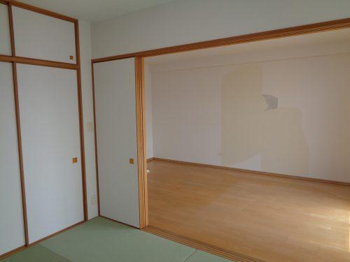 和室を洋室にリフォーム